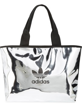Logo Metallic Shopper by Adidas Originals