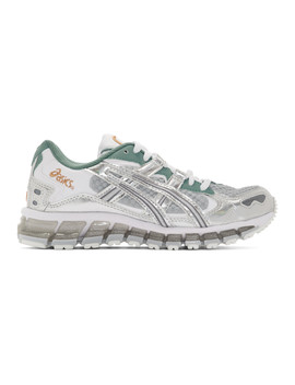 green-&-grey-gel-kayano-5-360-future-polarized-sneakers by asics