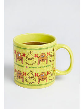 Merry Grinchmas Ceramic Mug by Modcloth