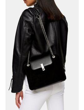 Sophie Suede Shoulder Bag by Topshop