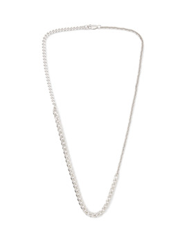 Sterling Silver Necklace by Bottega Veneta