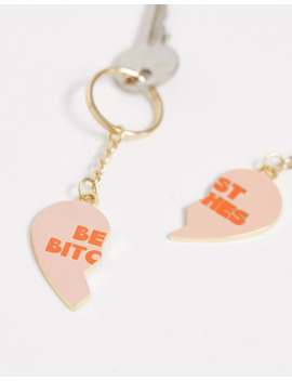 Typo Best Bitches Keyring by Typo