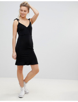 Urban Bliss Angela Wrap Dress With Tie Straps by Urban Bliss'