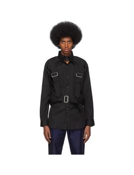 Black Harness Shirt by Comme Des GarÇons Shirt