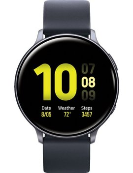Galaxy Watch Active2 Smartwatch 44mm Aluminum   Aqua Black by Samsung