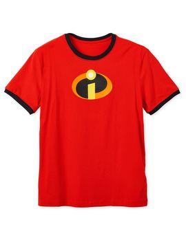Incredibles Logo Ringer T Shirt For Adults   Shop Disney by Disney