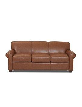 Jennifer Genuine Leather Sofa by Joss & Main