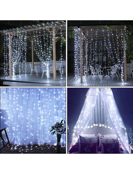 98ftx98ft-304-led-christmas-xmas-string-fairy-wedding-curtain-light-warm-white_cool-white by eeekit