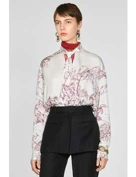 Camisa Estampada Lazo by Zara