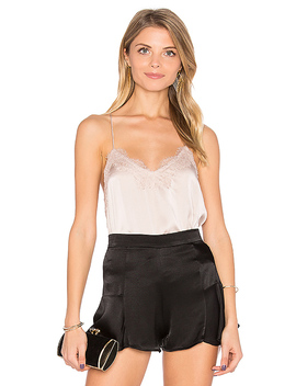 Racer Cami In Champagne by Cami Nyc