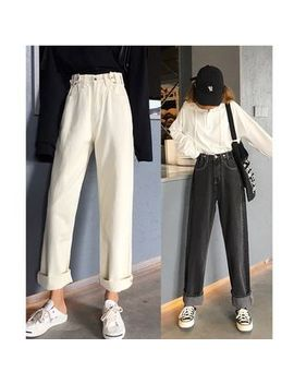 whoosh---hoch-taillierte,-weite-jeans by whoosh