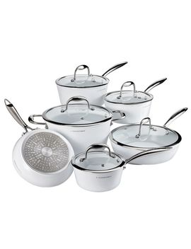 Lagostina Bianco Cookware Set With Bonus Wok, 11 Pc by Canadian Tire