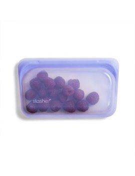 Stasher Amethyst Reusable Snack Bag  ... by Stasher