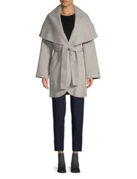 Marilyn Wool Blend Coat by T Tahari