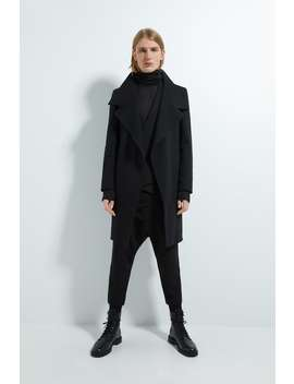 Asymmetrical Coat by Zara