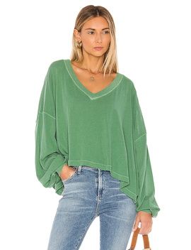 Buffy Tee In Green by Free People