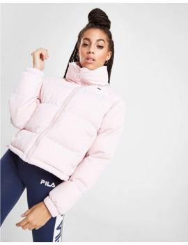 fila-logo-crop-puffa-jacket by fila