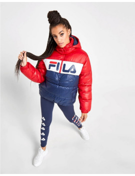Fila Colour Block Padded 1/4 Zip Jacket by Fila