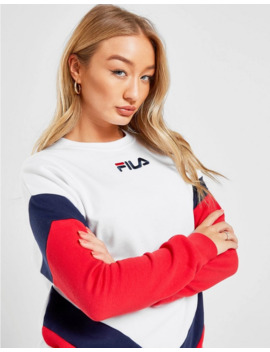 Fila Chevron Panel Crew Sweatshirt by Fila