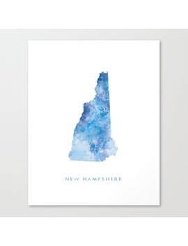 New Hampshire Canvas Print by Society6