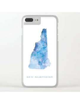 New Hampshire Clear I Phone Case by Society6