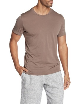 Howard Crew Neck Slub T Shirt by Velvet By Graham & Spencer