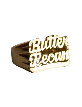 Butter Pecan Ice Cream Ring by Melogy Ehsani