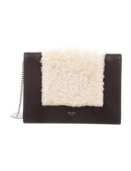 Frame Evening Clutch On Chain by Celine