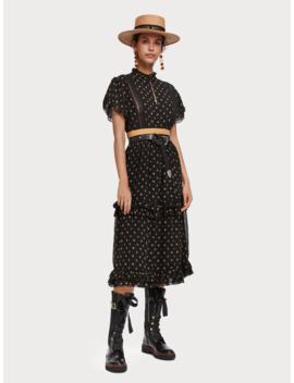 printed-chiffon-dress by scotch&soda