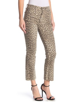 Callie Printed Raw Hen Jeans by Joe's Jeans