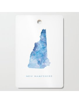 New Hampshire Cutting Board by Society6