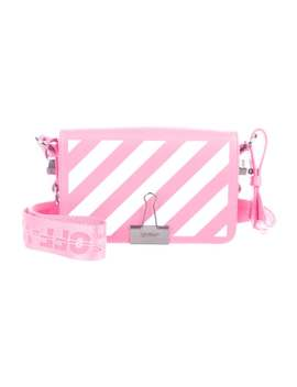 Mini Diagonal Binder Clip Crossbody Bag by Off White