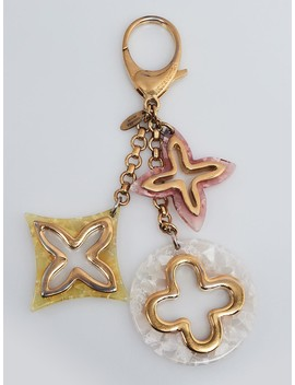 Pink Multicolor Insolence Key Holder And Bag Charm by Louis Vuitton