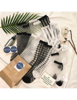Dute   Transparente Socken by Dute