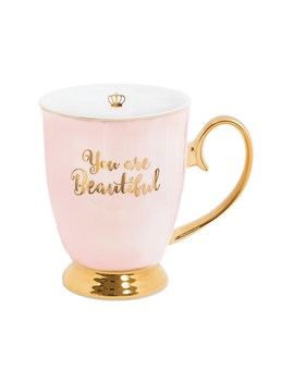 You Are Beautiful Mug by Cristina Re