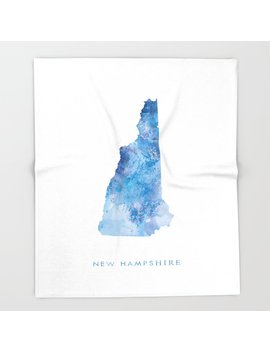 New Hampshire Throw Blanket by Society6