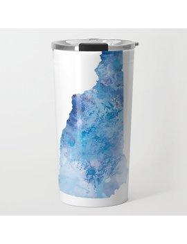 New Hampshire Travel Mug by Society6