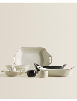 Kitchen Stoneware Set by Zara Home