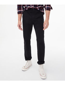 Relaxed Twill Stretch Chinos*** by Aeropostale