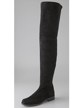 Hilo Thigh High Suede Boots by Stuart Weitzman