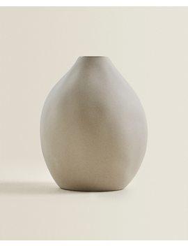 Ceramic Vase  Vases   Decoration   Living Room by Zara Home
