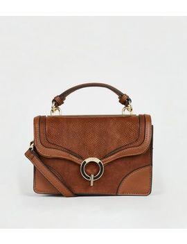 Est. 1969 Tan Top Handle Mini Bag by New Look