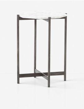 Gianea Side Table, Black by Lulu & Georgia