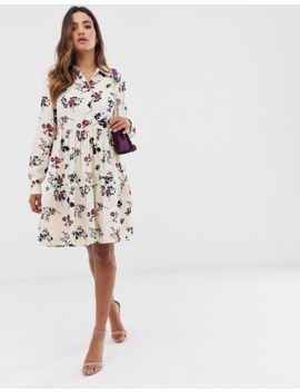 Y.A.S Floral High Neck Dress by Y.A.S