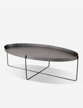 Lily Coffee Table, Graphite by Lulu & Georgia