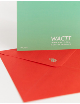 Wactt Christmas Wishlist Card by Central 23's
