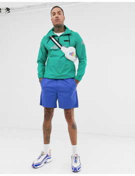 Ellesse Ion Overhead Jacket In Green Exclusive At Asos by Ellesse
