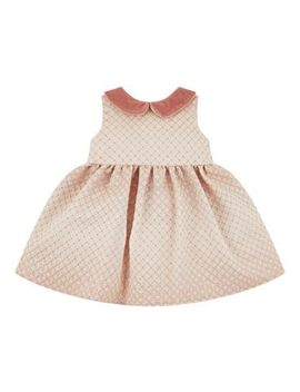 Mini Club All Dressed Up Jaquard Dress by Mothercare
