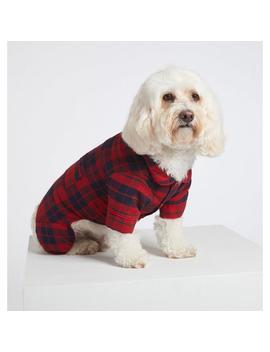 Dog Plaid Pajama by Janie And Jack