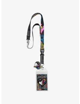 The Nightmare Before Christmas Simply Meant To Be Jack & Sally Lanyard by Hot Topic
